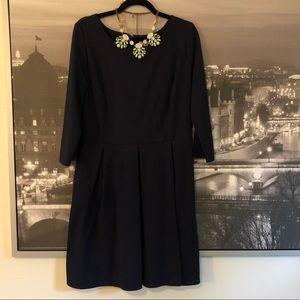 Merona Dresses - Merona Ponte 3/4 Sleeve Fit and Flare Dress